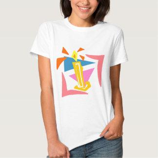 1st Födelsedagstearinljus T-shirts