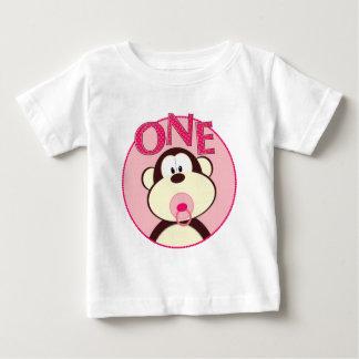 1st födelsedagT-tröja för förtjusande apa T Shirts