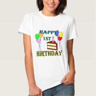 1st födelsedagT-tröja för lycklig med Tröja
