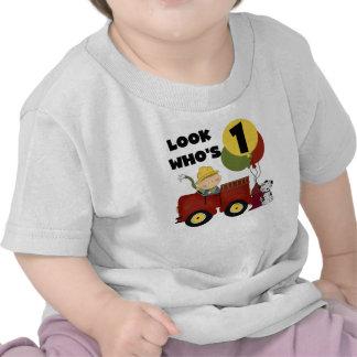 1st födelsedagTshirts och gåvor för brandman Tshirts
