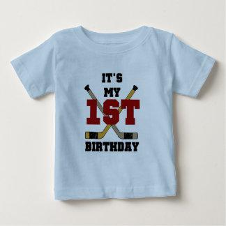 1st födelsedagTshirts och gåvor för hockey T-shirts