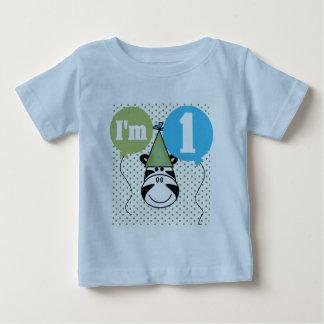 1st födelsedagTshirts och gåvor för sebra Tee