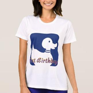 1st För födelsedag anka lite T-shirt