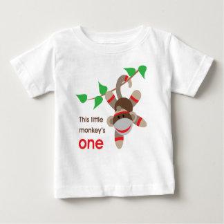 1st För födelsedag apaskjorta lite Tee Shirt