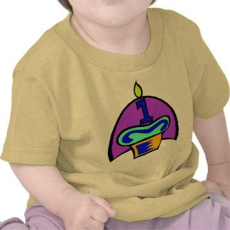 1st Första skjorta för födelsedaggåvor T T-shirt