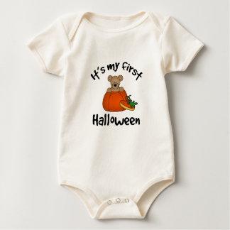 1st Halloween barnkläder Body