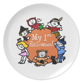 1st Halloween Fest Tallrikar