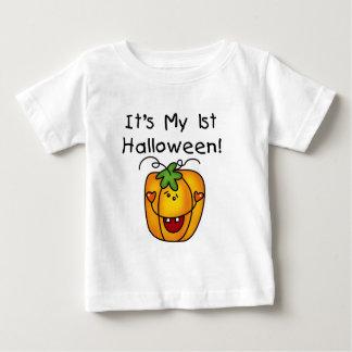 1st Halloween för jack o lantern T-tröja och gåvor T-shirts