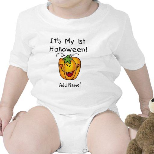 1st Halloween för personligpumpa ranka Body