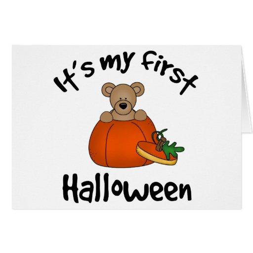 1st Halloween kort