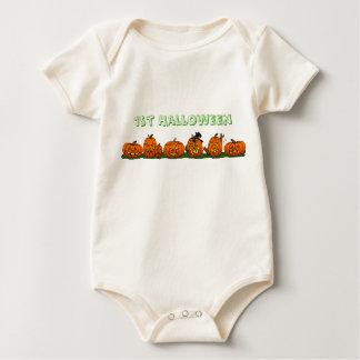 1st Halloween Onsie Bodies För Bebisar