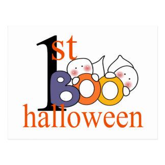1st Halloween spökeBU! Vykort