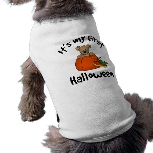 1st Halloween vovveT-tröja Tröja För Hundar