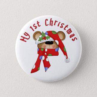 1st jul för julbjörnhuvud standard knapp rund 5.7 cm