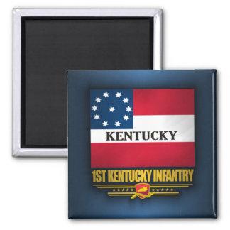 1st Kentucky infanteri Magnet