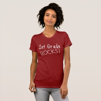 1st Klassen vaggar kvinna T-Shirt. Tee Shirts