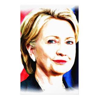 1st Kvinnapresident Hillary Clinton 2016_ Brevpapper