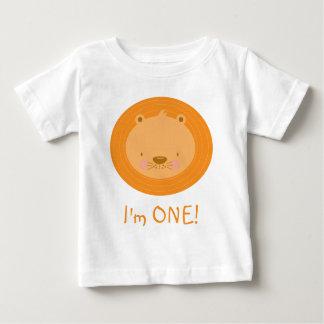 1st Lejon födelsedagbaby T-shirts