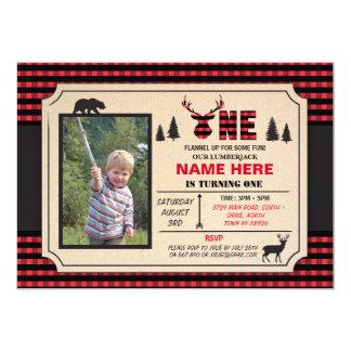 1st Lumberjack en inbjudan för