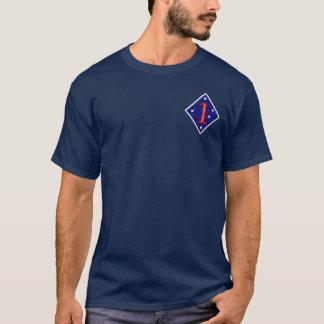 1st Marin- uppdelning T-shirt