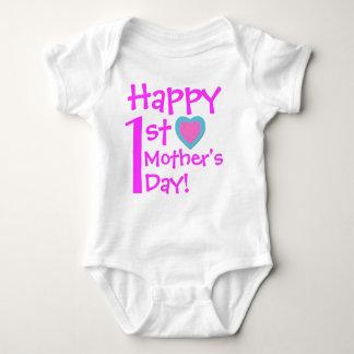 1st mors dag för lycklig t-shirt