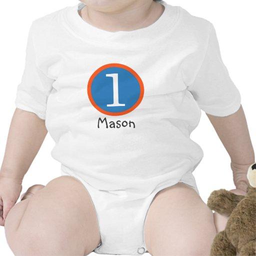 1st Pojke för födelsedaganpassadeT-tröja