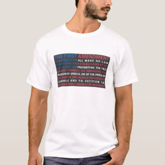 1st rättelse tee shirts