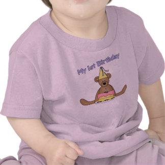 1st Skjorta för födelsedaggåvor T Tee Shirt