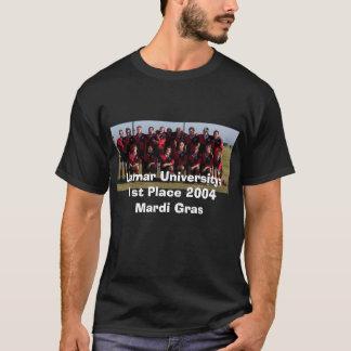 1st Ställe Mardi 2004 Gras, Lamar universiteten: T-shirt