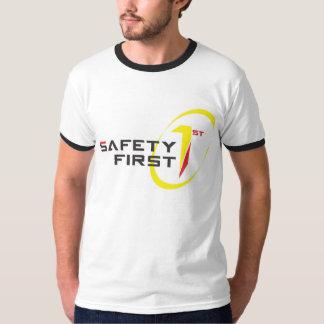 1st T för manar skjorta för Ringersäkerhet Tee