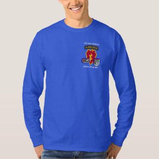 1ST T-TRÖJA för KAVALLERI L/S för SKVADRON 40TH T Shirts