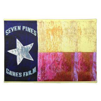 1st Texas infanteri, huva brigad, Lone stjärnaflag Bordstablett