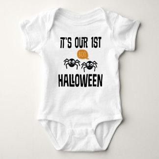 1st Utslagsplats för bebis för Halloween T-shirt