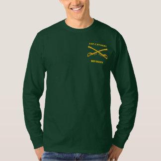1st Utslagsplats för kavalleriuppdelningslångärmad T Shirts