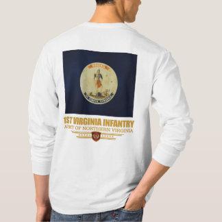 1st Virginia infanteri (f10) T-shirt