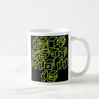1through12 åtta kaffemugg