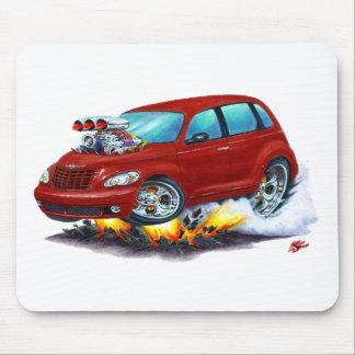 2008-10 rödbrun bil för halv liter-kryssare musmatta