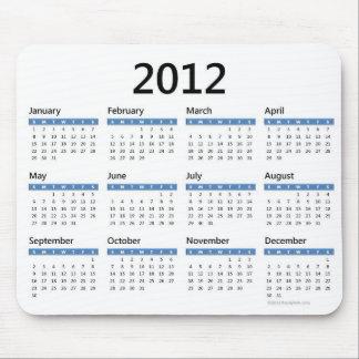 2012 årliga kalender mus mattor