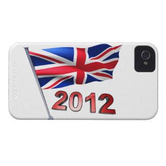 2012 med den Britannien flagga Case-Mate iPhone 4 Fodraler