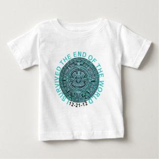 2012 som jag överlevde avslutar av skjortorna för tee shirt