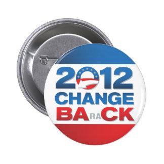 2012 tillbaka politiskt för ändring knäppas standard knapp rund 5.7 cm