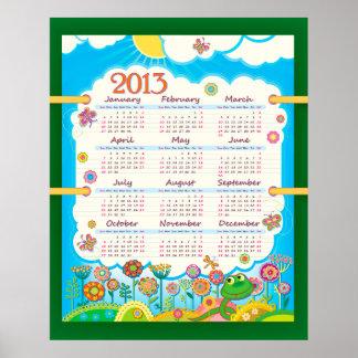 2013 affisch för kalender 3 poster