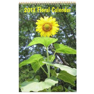 2013 - Blom- kalender