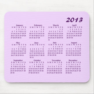 2013 kalender Mousepad Musmatta