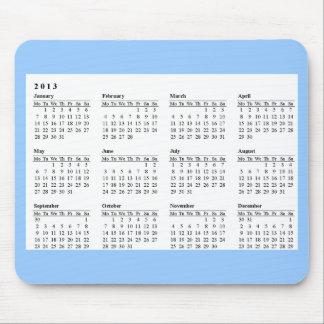 2013 kalender Mousepad Musmattor
