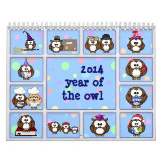 2014 år av ugglan kalender