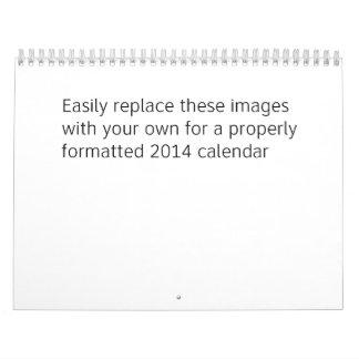 2014 beställnings- kalender