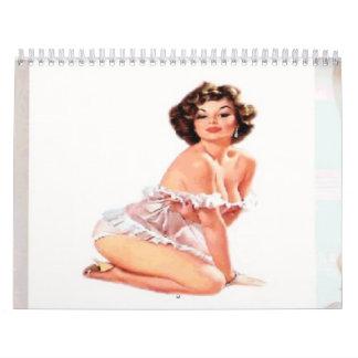 2014 klämma fast upp kalender