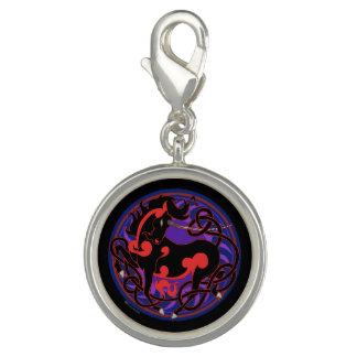 2014 MinkStyle Unicornberlock - svart/rött Charm