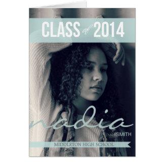 2014 moderna bandstudentkort 2 hälsningskort